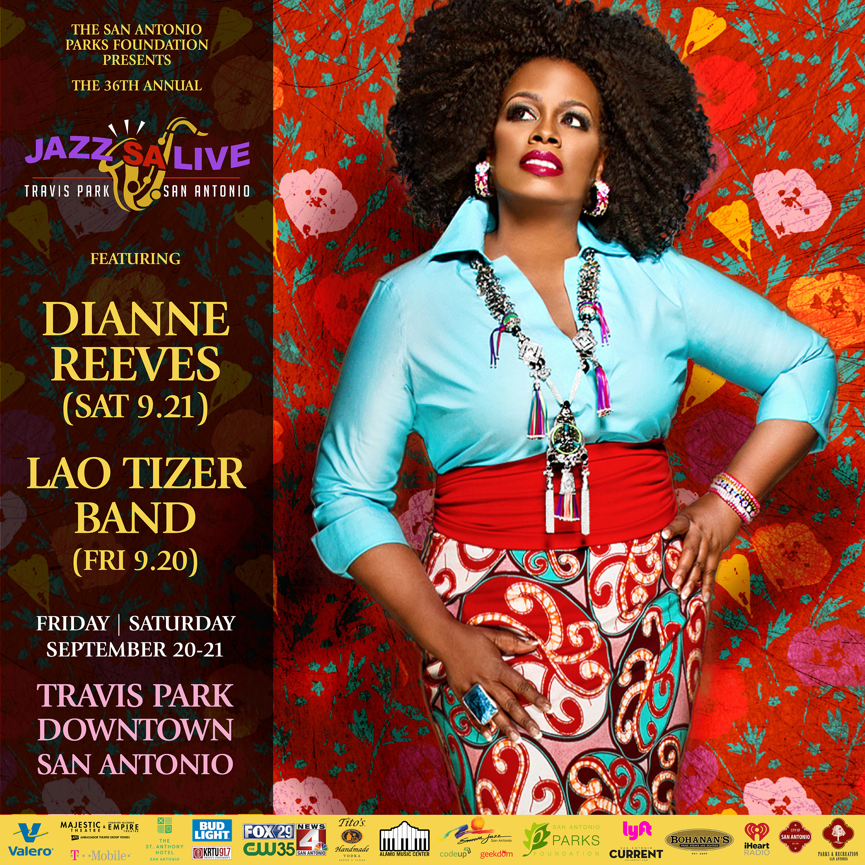 Jazz'SA Live - 2019 - San Antonio Parks Foundation